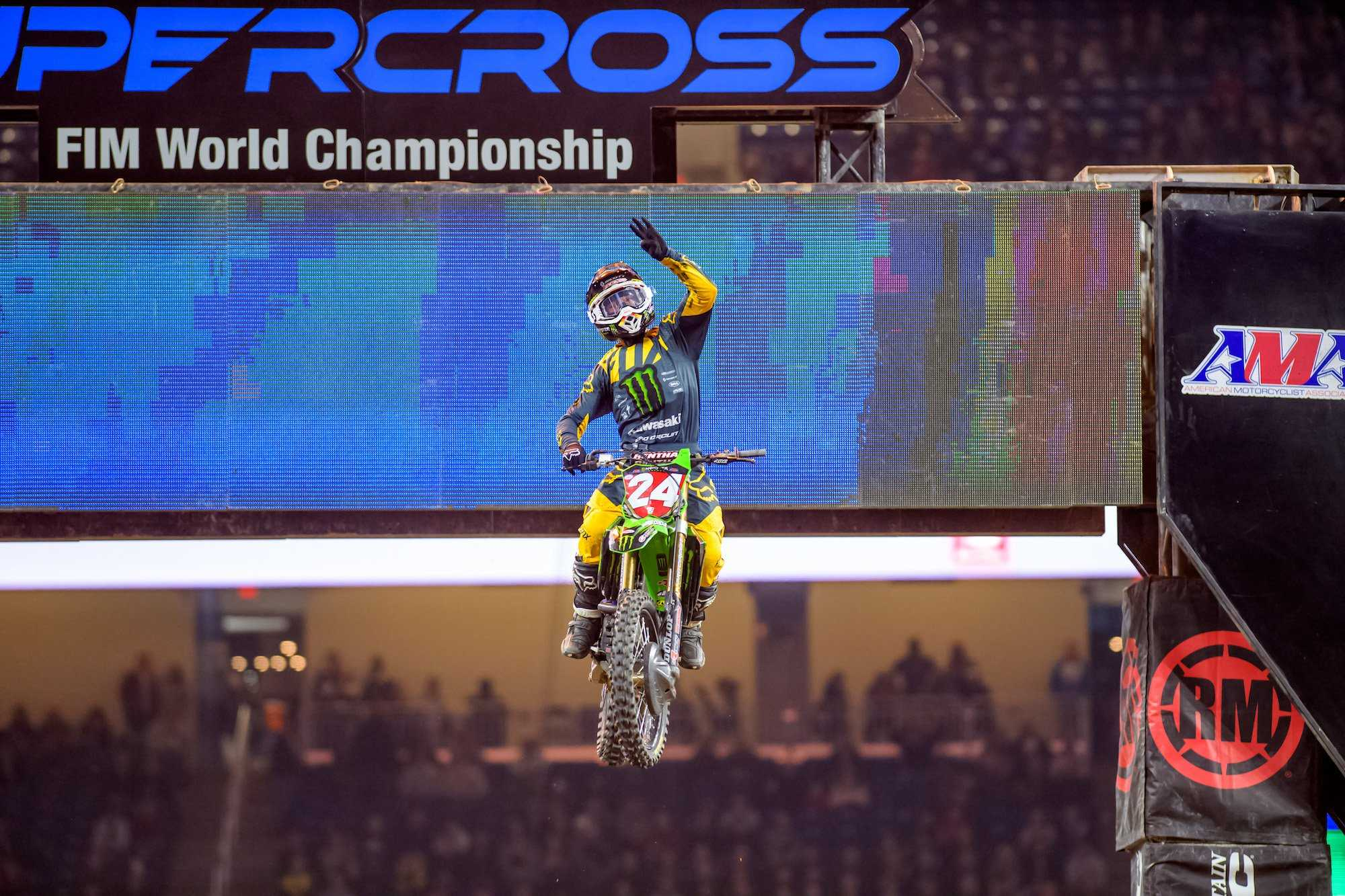 Forkner & Pro Circuit Racing Turn in The Hat Trick in Detroit