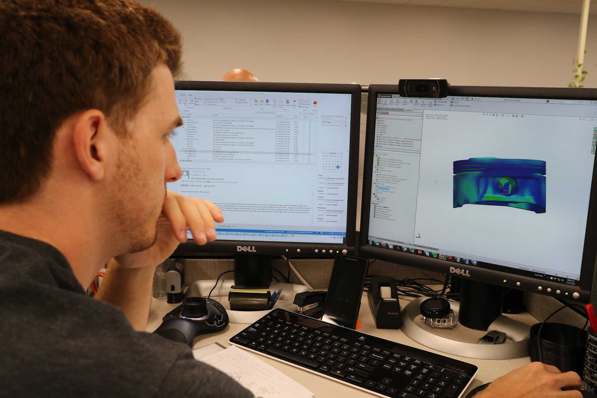 How FEA Helps Simulate Engine Stress on a Computer