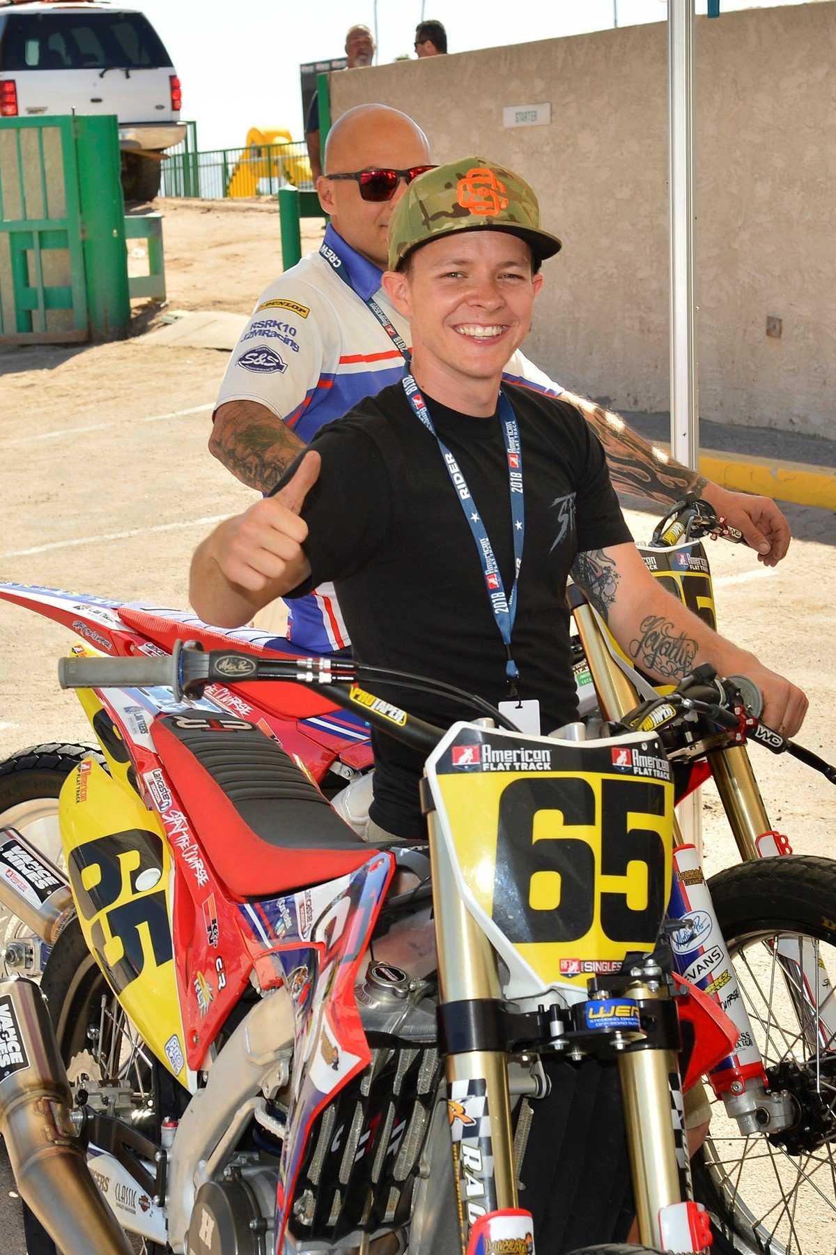 Cory Texter: American Flat Track Racing Extraordinaire