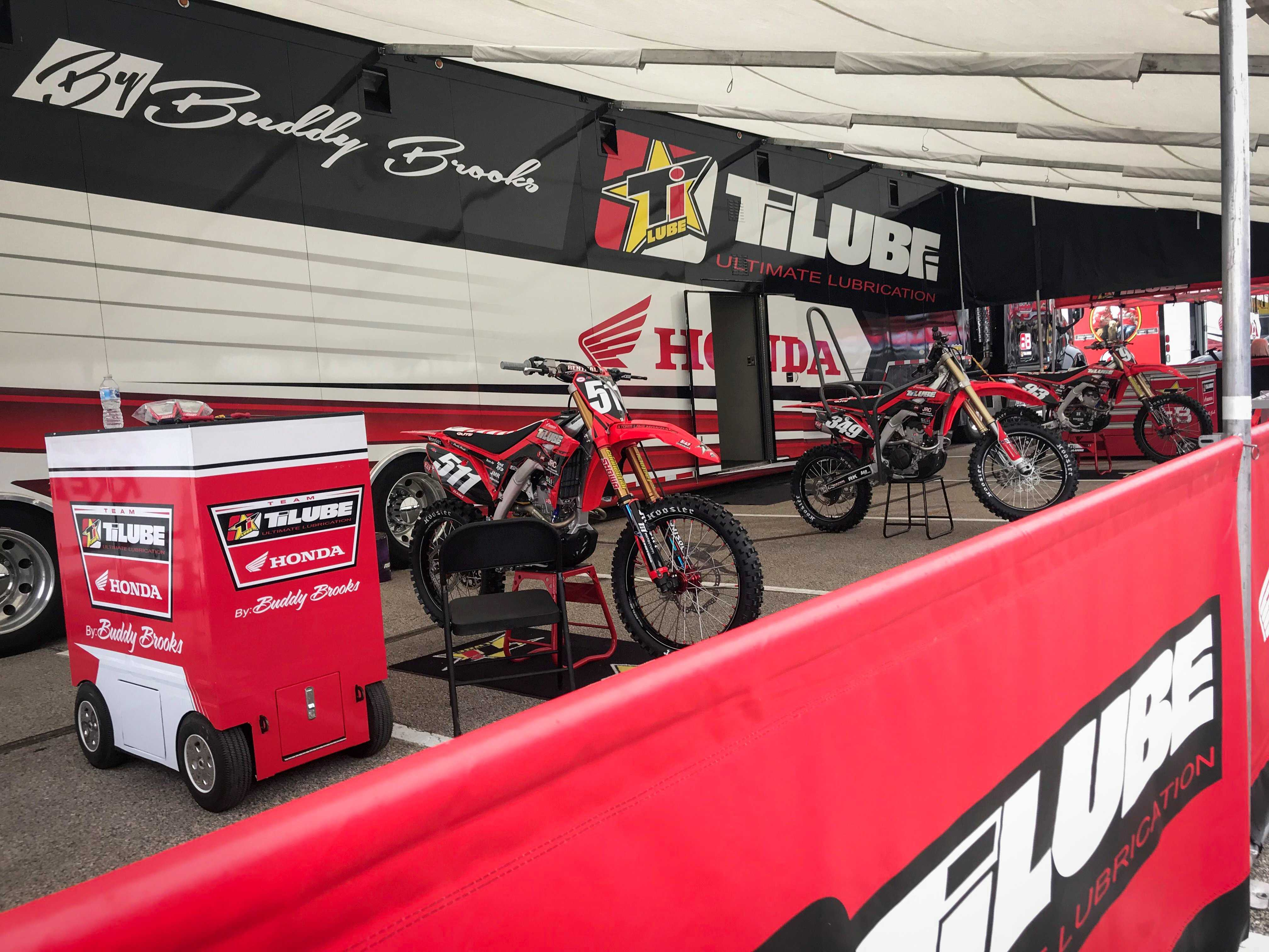 Inside the Race Rig: What it Takes to Race Supercross with Buddy Brooks of TiLube Honda