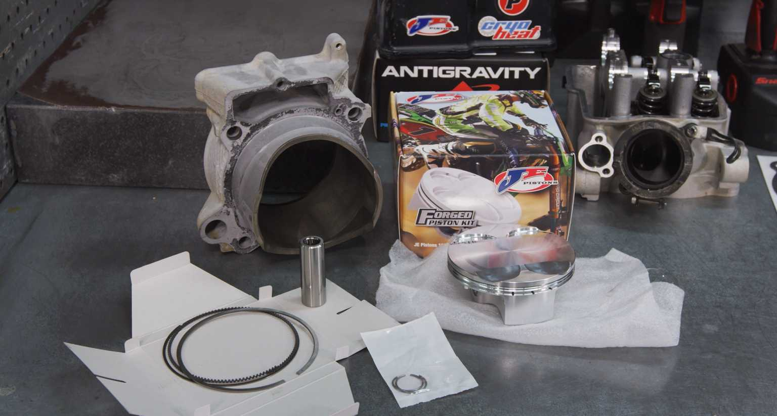 Tech Tips: Installing a New Piston in your Dirt Bike with Precision Concepts Racing